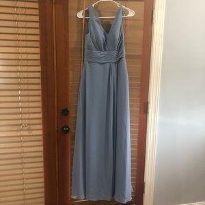 Azazie Light Blue Gown